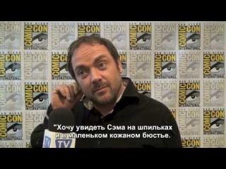 Марк Шеппард: За такое они будут гореть в аду. rus subs