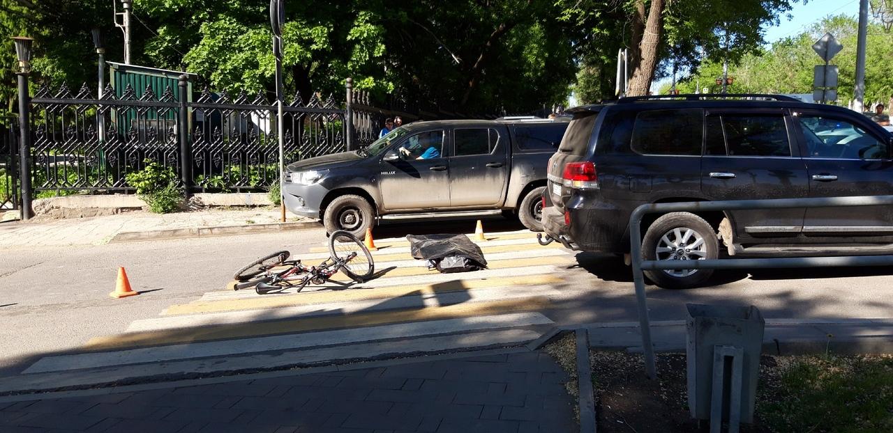 дтп самара мега сити сбили велосипедиста насмерть