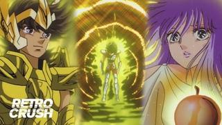 Gold Cloth Pegasus Seiya fights evil Goddess | Saint Seiya: Evil Goddess Eris (1987)