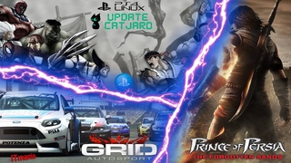 Update Catjaro (Manjaro  Ornara). Test: Prince of Persia: The Forgotten Sands, Grid Autosport