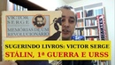 VICTOR SERGE Stálin URSS SUGERINDO LIVROS EP 77