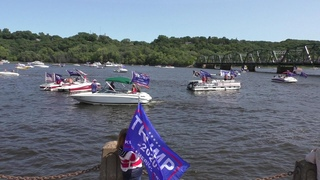 Trump 2020 Boat Parade  Minnesota and Wisconsin
