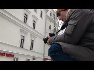 Тараканы! записывают новый клип на митинге 31 января