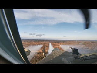 Ми-35, Ми-28 и Ка-52 в небе: экипажи вертолетов уничтожили технику «противника» в Ленобласти