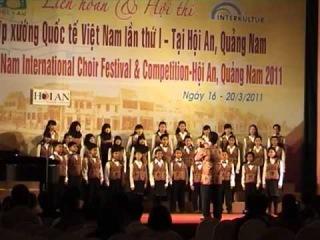 1st Vietnam International Choir Festival & Competition, Hoi An 2011