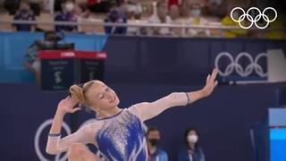 Невероятный финал: золотые гимнастки сборной ОКР вырвали победу у США