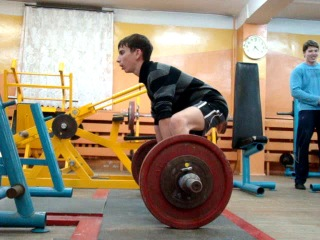 "Дмитрий ""Phenomenon Dead Lift"" Этингов. Становая тяга 80 кг. ()"