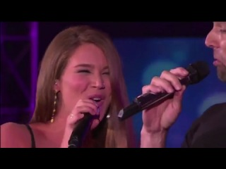 Ricky martin & joss stone the best thing about me is you (oprah show 02/11/2010)