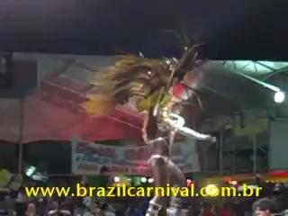 "Бразильская самба-Конкурс ""Королева карнавала"""
