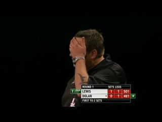 Adrian Lewis vs Brendan Dolan (World Grand Prix 2013 / Round 1)