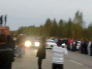 Subaru WRX STI VS TurboTaz Кадуй Закрытие сезона 2012