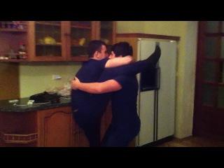 Кавказ для парней! Танец двух красавцев