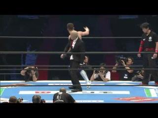IWU Prince Devitt vs. Low Ki vs. Kota Ibushi -  NJPW Wrestle Kingdom 7 - Evolution