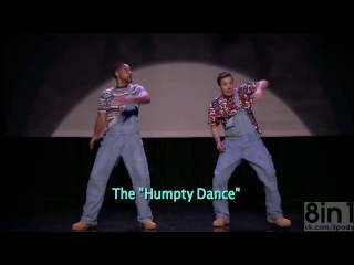 Уилл Смит и Джимми Фэллон - Эволюция Хип-Хоп танца / Jimmy Fallon & Will Smith : Evolution of Hip-Hop Dancing