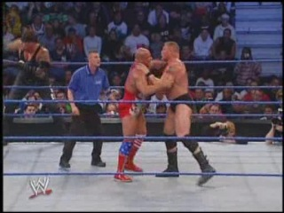 [#My1] WWE Smackdown  - Brock Lesnar & John Cena vs. Undertaker & Kurt Angle