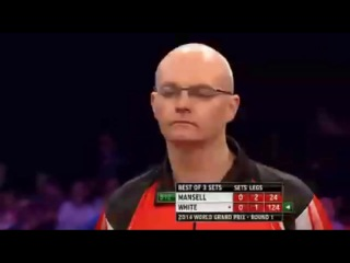 Ian White vs Michael Mansell (World Grand Prix 2014 / First Round)