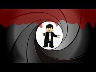 Lego James Bond Trailer