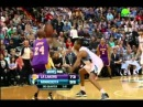 Kobe Highlights 35pts 14rebs Becomes All Time Leader in Field Goals Made 01 29 12