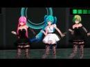 AMV Чёрной кошки нет опасней Танец Вокалоидов - Аниме клип