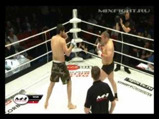 M 1 Selection 2010 №6, Russia  Гран При свыше 93 кг  Денис Комкин Action Force   Арсен Абдулкеримов Горец