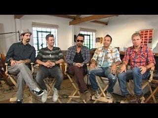 Backstreet Boys Announce Brand New Album in 'GMA' Interview Inside Recording Studio (2012)