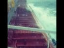 Танкер в шторм в Норвежском море