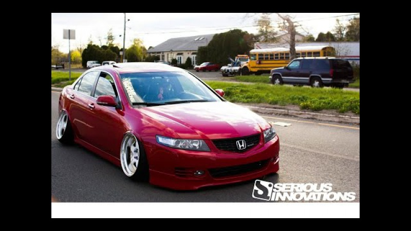 Slammed TSX Camber Gang Test video