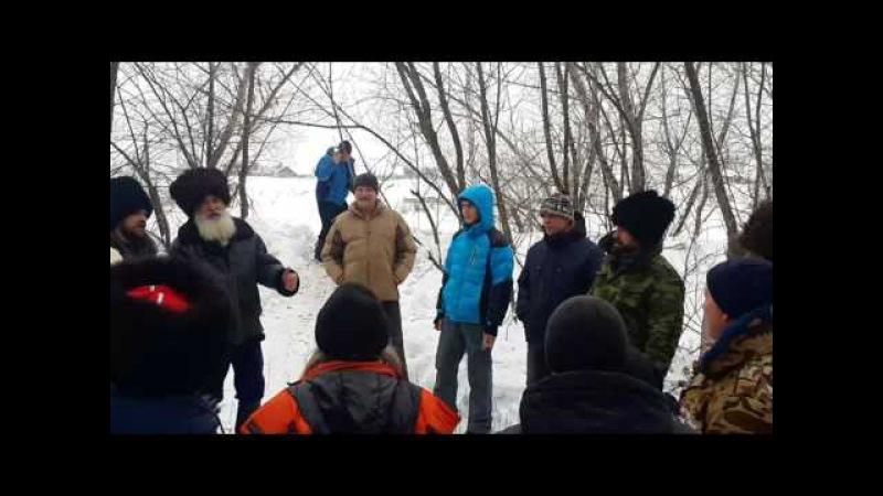 Багренье 3 января Уральск.