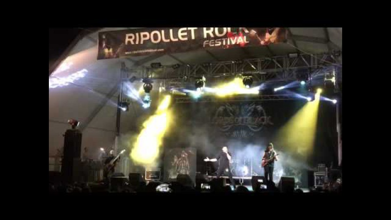 Lords Of Black Neon Knights Black Sabbath Dio cover Ripollet Rock 2016