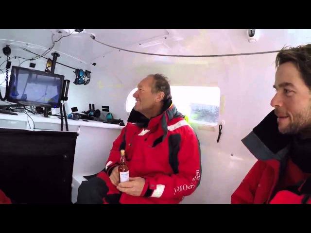 IDEC Record sail across the Indian Ocean