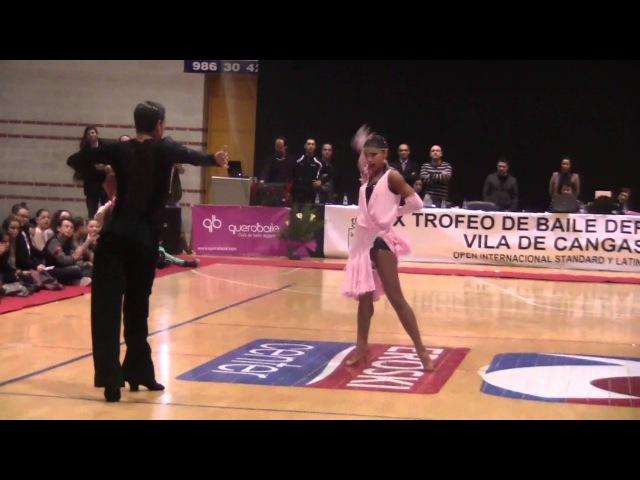 Nino Langella Kristina Moshenskaya - IX Trofeo de Baile Desportivo Vila de Cangas