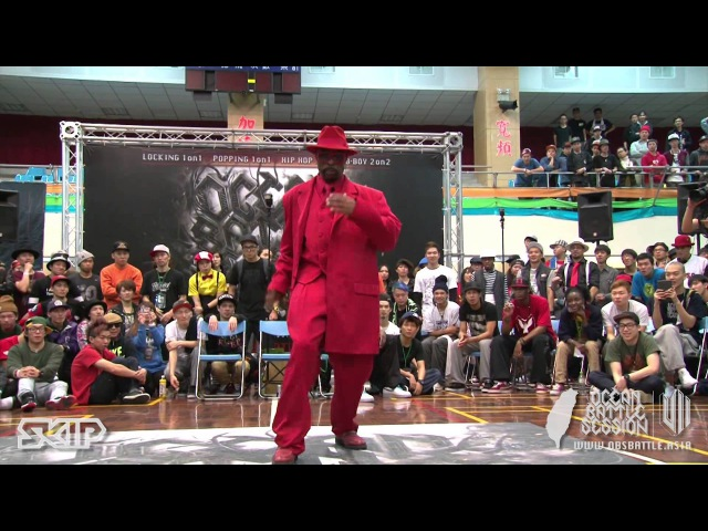 Popping Judge Solo Boogaloo Sam 20130303 OBS VOL 7 TAIWAN FINAL