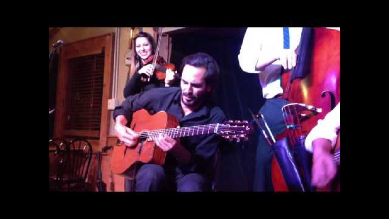 Blue Skies (Gypsy Jazz) - Gonzalo Bergara Quartet with Leah Zeger on Violin