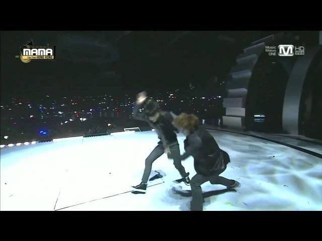 엑소(EXO) - 으르렁(Growl) 늑대와 미녀(Beauty and the Beast) at 2013 MAMA