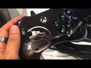 EXCLUSIVE!!! First Hands On with the Mortal Kombat X gaming pad from PDP!