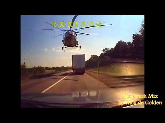Аварии и ДТП, нелепые аварии, курьёзы   Russian Car Crashes