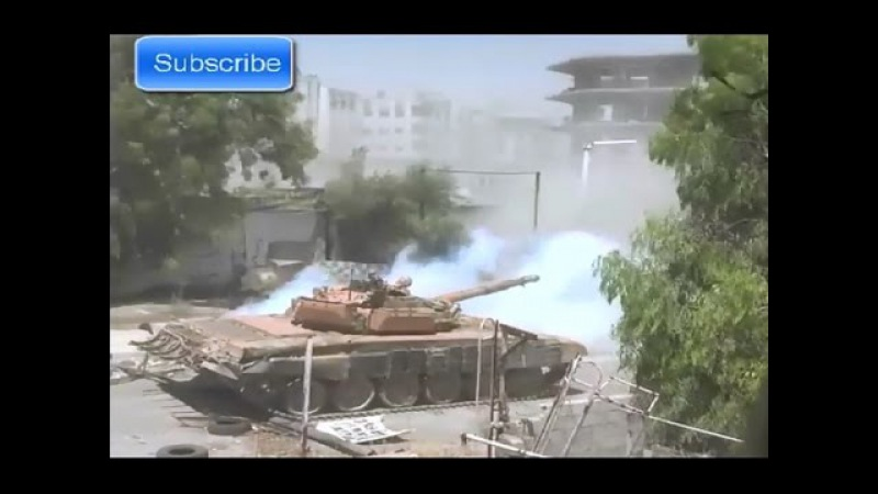 Syria War ★ Jobaria. Sturm fortified area from the south