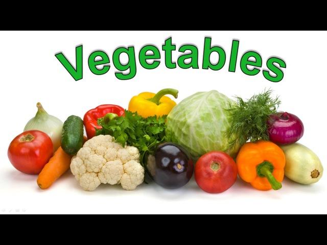 Овощи на английском языке Английский для начинающих