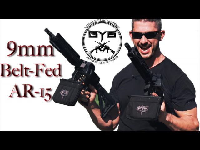 Dual Wielding |FULL AUTO| 9mm Belt-Fed AR-15's