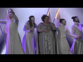 ESCKAZ in Vienna: Bojana Stamenov (Serbia) - Beauty Never Lies (2nd rehearsal)