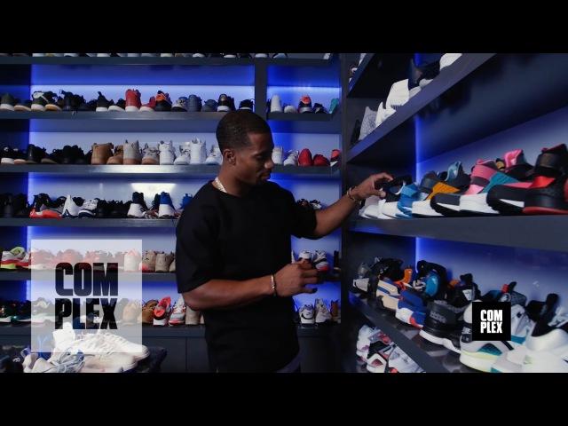 Complex Closets Victor Cruz Shows Us His Crazy Sneaker Collectio YOURSIDESHOP