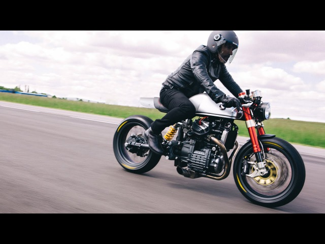 Sacha Lakics Honda CX500 Cafe Racer - long version