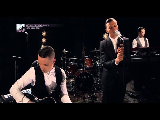 Hurts Wonderful Life _ mtv live sessions HD