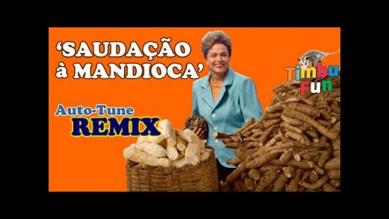 Dilma Saudação à Mandioca REMIX By Timbu Fun