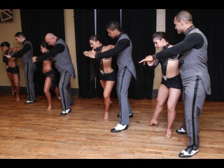 Yamulee at Balmir Latin Dance Studio's 2nd Anniversary