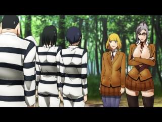 RussFegg | Школа-тюрьма - 1 серия | Prison School 01 эпизод | Школа строгого режима русская озвучка