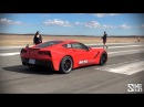 700hp KS Tuned C7 Stingray Huge Sounds at Shift S3ctor