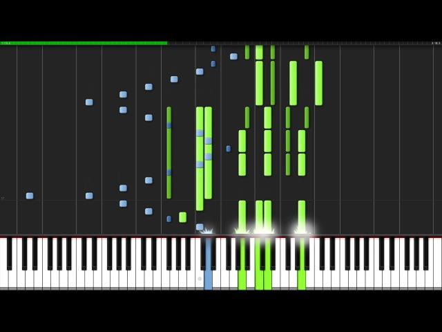 Prelude in G Minor Opus 23 No 5 Sergei Rachmaninoff Piano Tutorial Synthesia