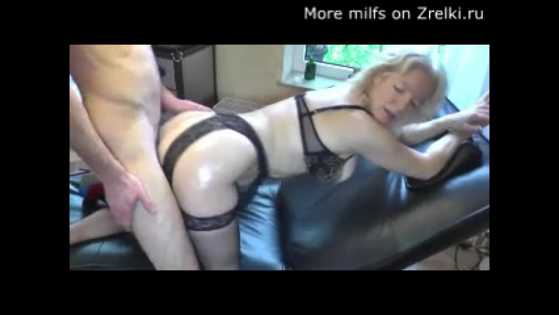 Mature milf mom in black stockings hard first
