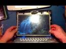 Ремонт ноутбука HP Pavilion tx2500. Неисправность матрицы. Ремонт CCFL лампы подсветки.